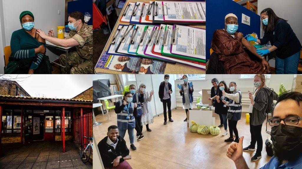 Over 520 people got COVID-19 vaccines last week in Lambeth Walk in clinics